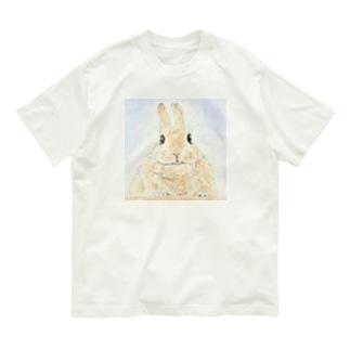 みかん🍊ちゃん(ましかく) Organic Cotton T-shirts
