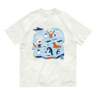 南極生活 Organic Cotton T-shirts