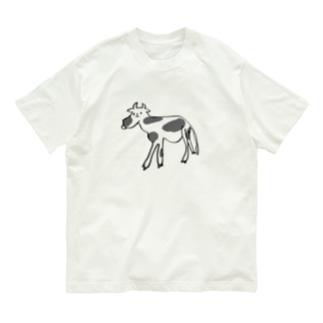 ウシ Organic Cotton T-shirts