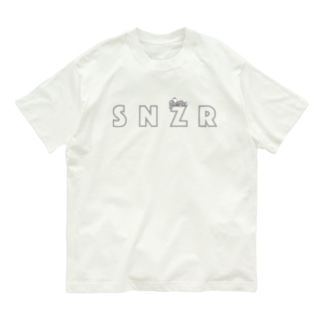 シュナウザー SNZR&ひる寝 Organic Cotton T-shirts