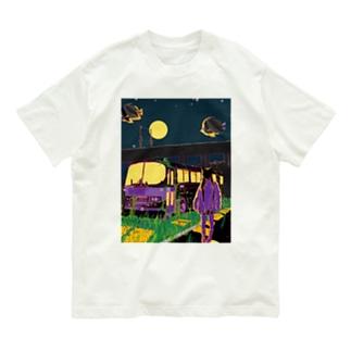 銀河バス停留所 Organic Cotton T-shirts