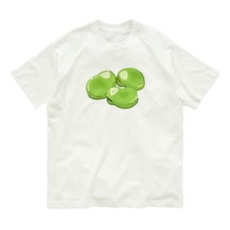 にくらしい そらまめ3兄弟 Organic Cotton T-Shirt