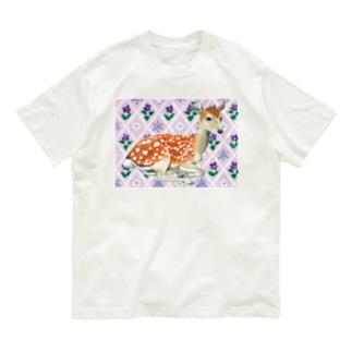 Beautiful deer Organic Cotton T-shirts