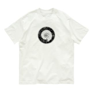 アンモナイト/サークル Organic Cotton T-shirts