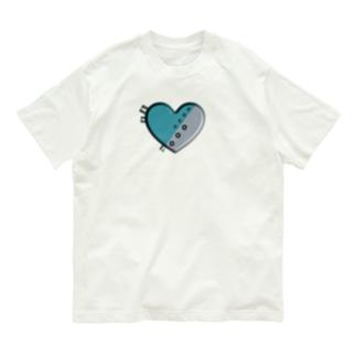 ハート 機械 Organic Cotton T-Shirt