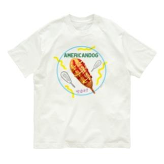 アメリカンドッグマシッソヨ Organic Cotton T-shirts