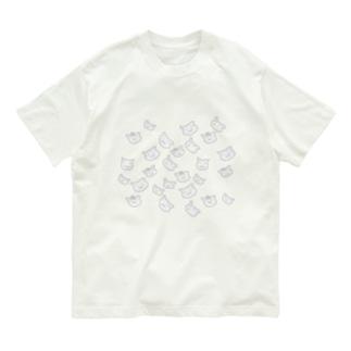 うかぶひつじ モノクロのきぶん Organic Cotton T-Shirt