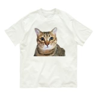 グラフィックつみれ Organic Cotton T-shirts