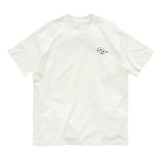 鳥と魚のねこぜちゃん Organic Cotton T-shirts