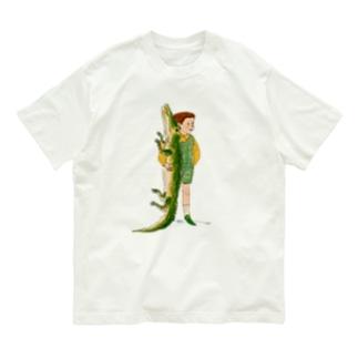 ワニと僕 Organic Cotton T-shirts