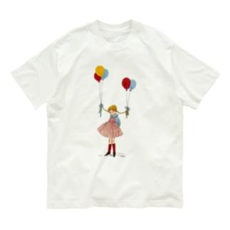 風船 Organic Cotton T-shirts