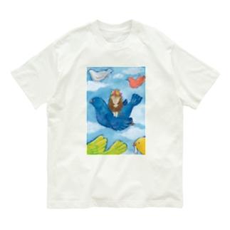 わたしの青い鳥 Organic Cotton T-shirts