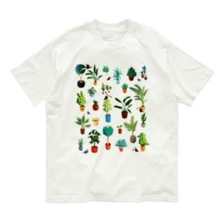 観葉植物 Organic Cotton T-shirts
