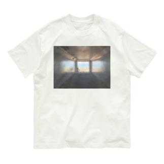 癒しの風景(海への入口) Organic Cotton T-shirts