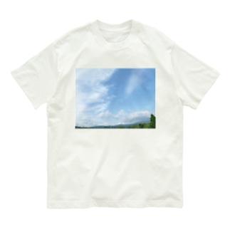 癒しの風景(空と雲) Organic Cotton T-shirts