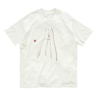 筆女神 いのり2 Organic Cotton T-shirts