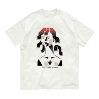 涼しい目の女 Organic Cotton T-shirts