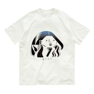 涼しい目の女2 Organic Cotton T-shirts