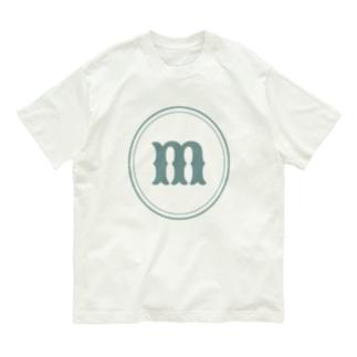 クラシックなアルファベットm Organic Cotton T-shirts