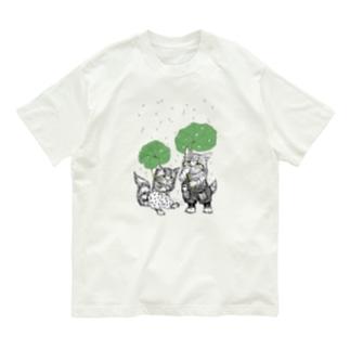 あんずとすもも Organic Cotton T-shirts