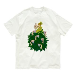 紫陽花 Organic Cotton T-shirts
