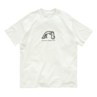 「ガンバレ!絶滅くん!」チーター オーガニックコットンTシャツ Organic Cotton T-Shirt