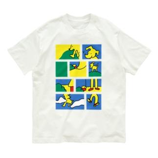 Dog Organic Cotton T-shirts