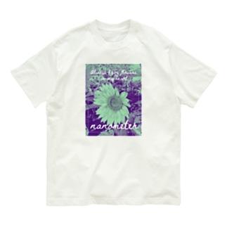 nanometer『いつも心に花を』オーガニックコットンTシャツ Organic Cotton T-shirts