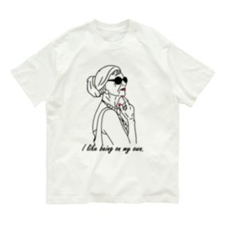 おしゃれなおばあさんBR Organic Cotton T-shirts