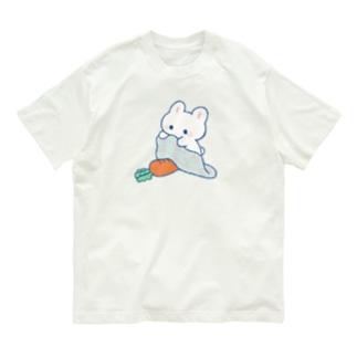 おやすみにんじん(カラー) Organic Cotton T-shirts