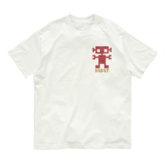 ロボT small... Organic Cotton T-Shirt