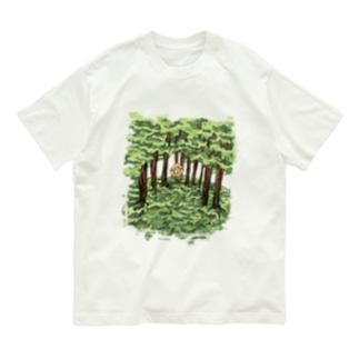 マー君と森 Organic Cotton T-shirts