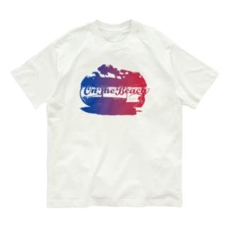 OnTheBeachロゴプリントTシャツ Organic Cotton T-shirts