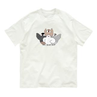 文鳥戦隊 Organic Cotton T-Shirt