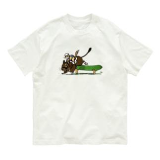 華麗なジャンプ Organic Cotton T-Shirt