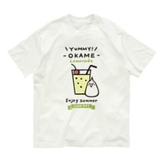 オカメとレモネード Organic Cotton T-shirts