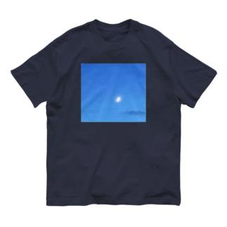 月と雲 Organic Cotton T-Shirt