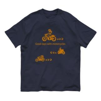 モーターサイクル日記 Organic Cotton T-Shirt