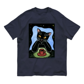 Black coffee Organic Cotton T-shirts