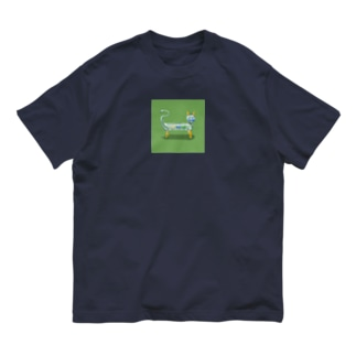 ガラス細工のネコ Organic Cotton T-Shirt