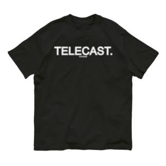 FUZZAGE(TM) No.6 TELECAST Organic Cotton T-shirts