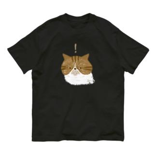 何かを見つけたレッドエキゾ Organic Cotton T-shirts