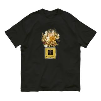 アンドアイデザイン 数秘&カラー🄬オマージュボトルNo8&GOLD Organic Cotton T-shirts