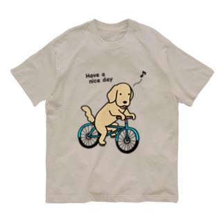 bicycle 2 Organic Cotton T-Shirt