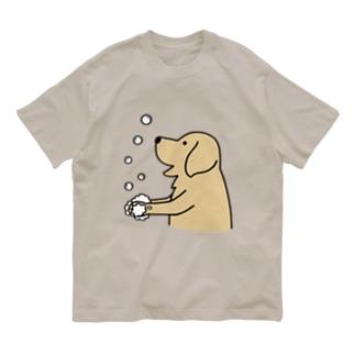 wash hands 2 Organic Cotton T-Shirt