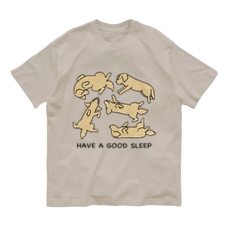 寝相 2 Organic Cotton T-Shirt