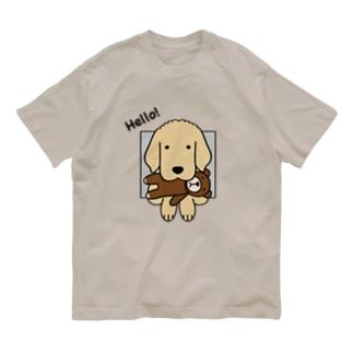 ハロー!(前面) Organic Cotton T-Shirt