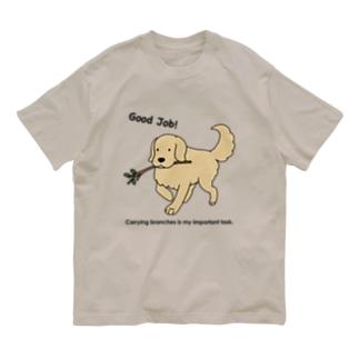 good job(両面) Organic Cotton T-shirts