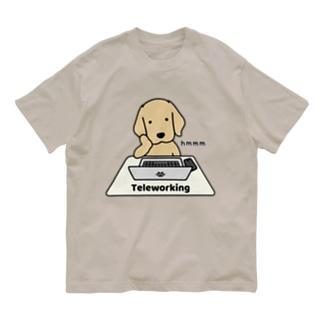 テレワーク Organic Cotton T-shirts