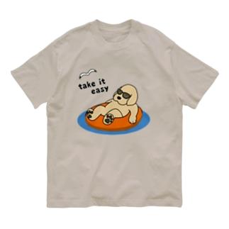 リラックス Organic Cotton T-shirts